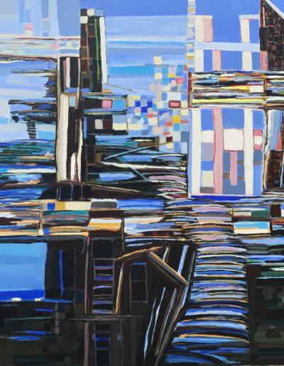 Acrilyque sur toile / 97X146 / 2017