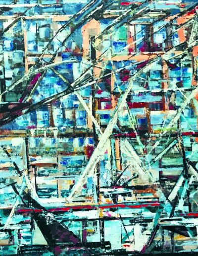Acrylique sur toile / 89X130 / 2016