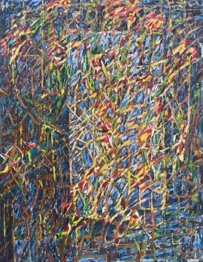 Acrylique sur toile / 130X97 / 2020 / 3