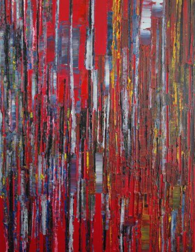 Acrylique sur toile /146X97/ 2020/ 9