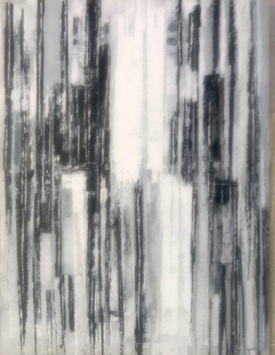 Sans titre/acrylique  sur toile/130X97/2020/20